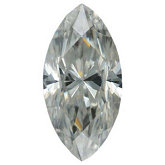 Marquise Lab Created Moissanite