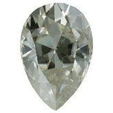 Pear Lab Created Moissanite
