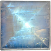 Square Genuine Rainbow Moonstone