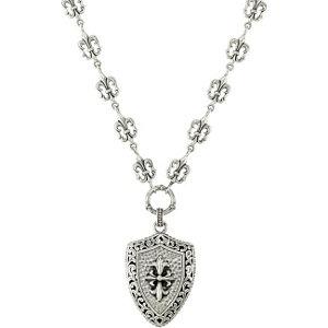 Fleur-de-Lis Design Necklace