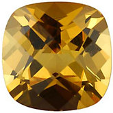 Antique Square Imitation Citrine