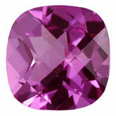 Antique Square Imitation Pink Tourmaline