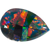 Pear Lab Created Mosaic Opal