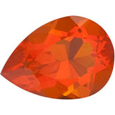 Pear Genuine Mexican Fire Opal