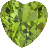 Heart Genuine Peridot