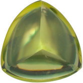 Trillion Genuine Cabochon Peridot