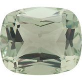 Antique Cushion Genuine Green Quartz