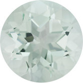 Round Genuine Green Quartz