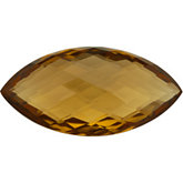 Marquise Genuine Honey Quartz