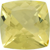 Antique Square Genuine Lemon Quartz