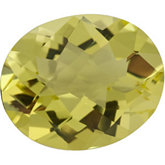 Oval Genuine Lemon Quartz