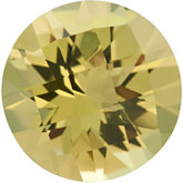 Round Genuine Lemon Quartz