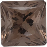 Square SWAROVSKI GEMS™ Genuine Smoky Quartz