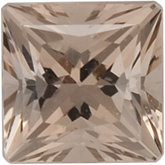 Square SWAROVSKI GEMS™ Genuine Sand Smoky Quartz