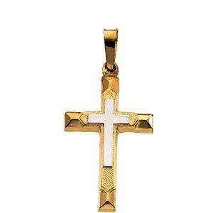 Hollow Cross Pendant