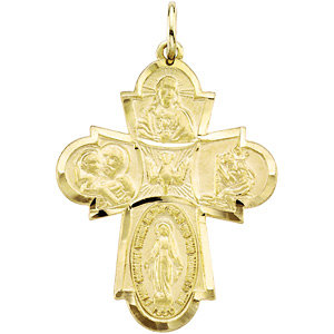 Four-Way Cross Medal