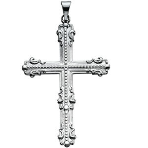 Large Fancy Cross Pendant