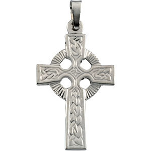 Fancy Celtic Cross Pendant