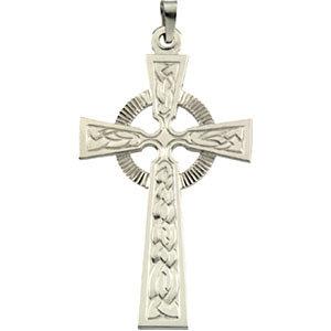 Fancy Celtic Cross Pendant