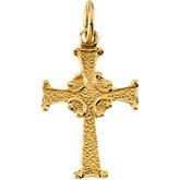 Children's Cross Pendant
