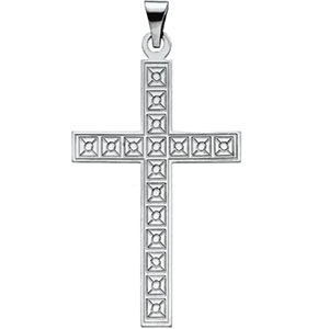 Design Cross Pendant