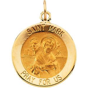 Round St. Mark Medal