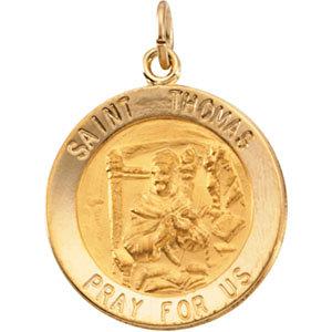 Round St. Thomas Medal