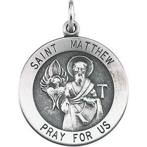 Round St. Matthew Medal