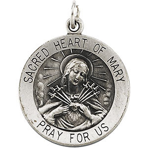 Sacred Heart of Mary Medal