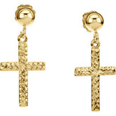 Cross Dangle Earring
