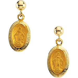Miraculous Ball Dangle Earring