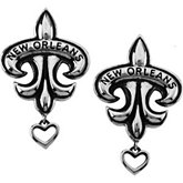 Anne Dale's Signature Fleur-de-lis Earrings