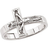Crucifix Chastity Ring