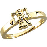 Youth Diamond Angel Ring