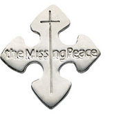 The Missing Peace® Lapel Pin with Box