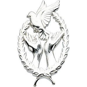 Wings of Remembrance™ Cross Pendant