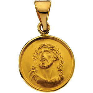 Round Face of Jesus Medal