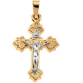 Hollow Crucifix Pendant