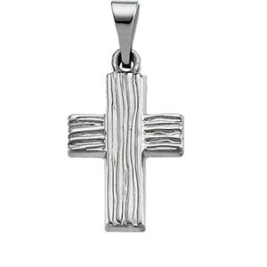 The Rugged Cross® Pendant or Necklace with Box