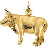 Nativity Ox Pendant