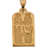 Ten Commandments Pendant