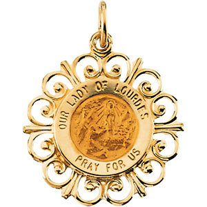 Our Lady of Lourdes Medal