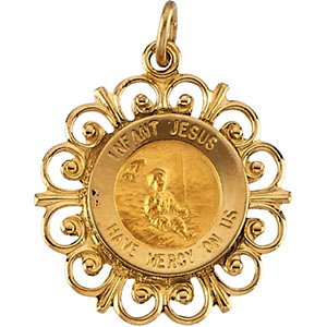 Infant Jesus Medal