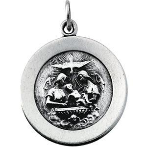 Baptismal Medal