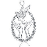 Wings of Remembrance™ Charm