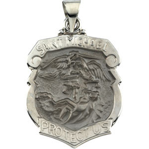 Hollow St. Michael Medal