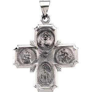 Hollow Four-Way Cross Medal