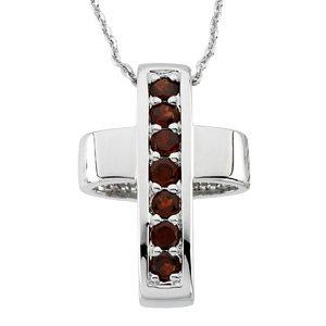 Healing Cross Pendant & Chain (Reversible)