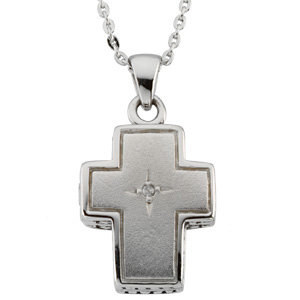 Reversible Prayer Locket™ Necklace