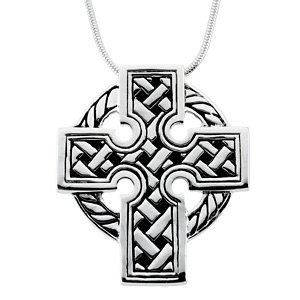 Celtic Cross Pendant & Chain
